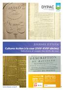 Cultures écrites